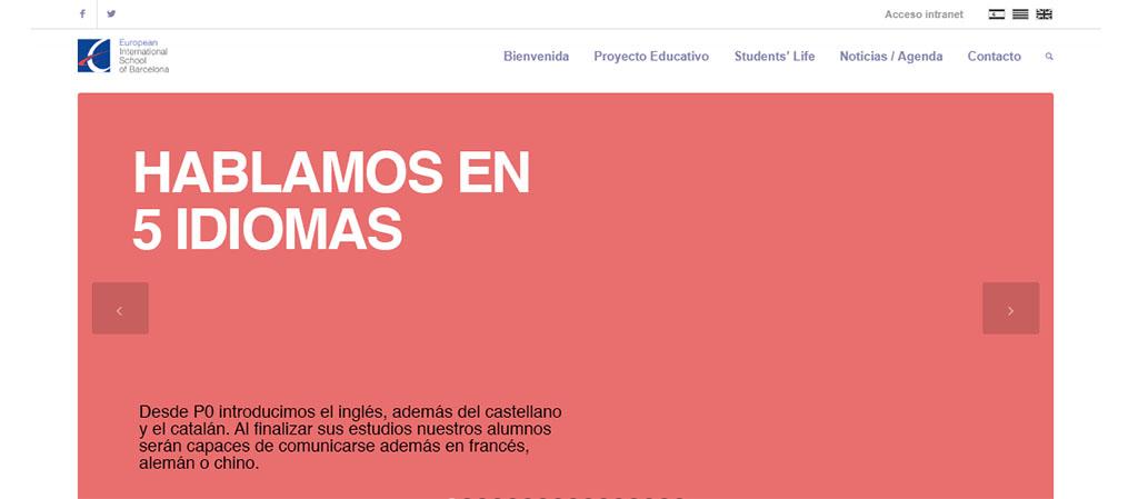 Captura de la web de la EIS